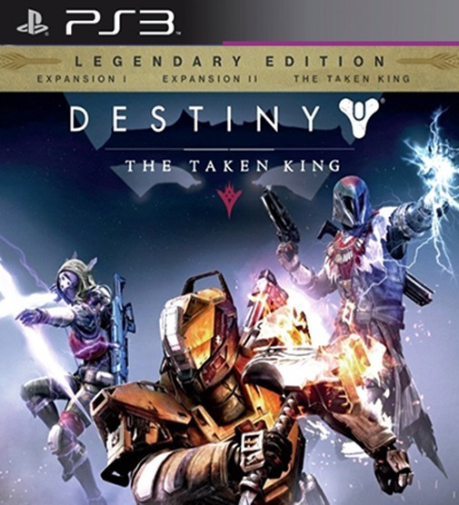 Destiny The Taken King Com 3 Dlcs Ps3 Psn Dublado