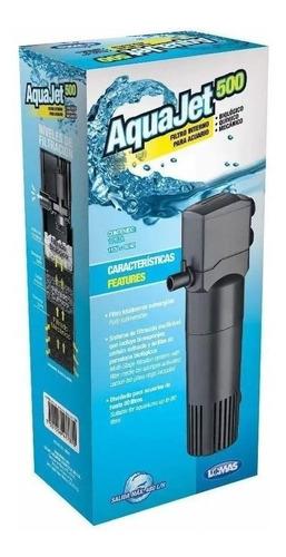 Filtro Interno Aquajet 500 480l/h Acuario 80lts