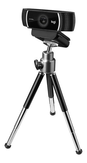 Webcam C922 Pro Stream Logitech Full Hd 1080p C/ Tripé