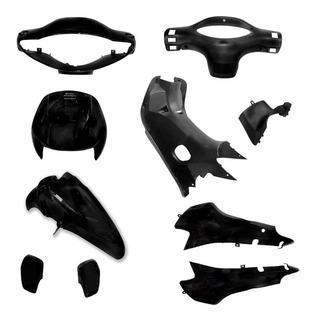 Kit De Plásticos Smash 110 Universal Negro