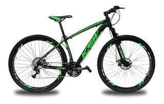 Bicicleta Aro 29 Ksw Xlt 24v Disco Câmbios Shimano