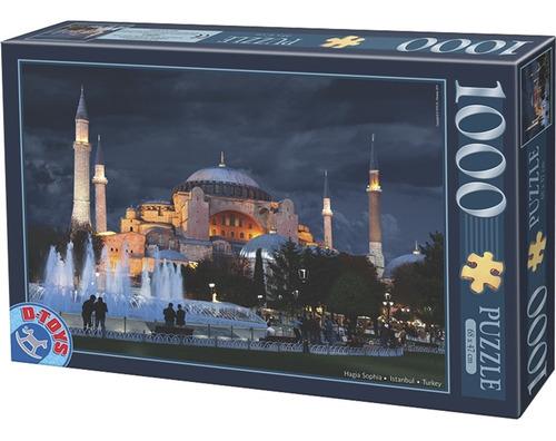 Rompecabezas 1000 Piezas D-toys: Hagia Sophia, Turquía