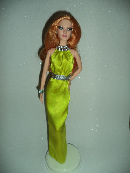 Barbie Collector The Look Red Carpet Yellow Gown