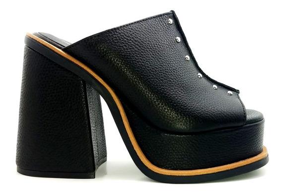 Zapatos Zuecos Mujer Lady Stork Anita Super Oferta