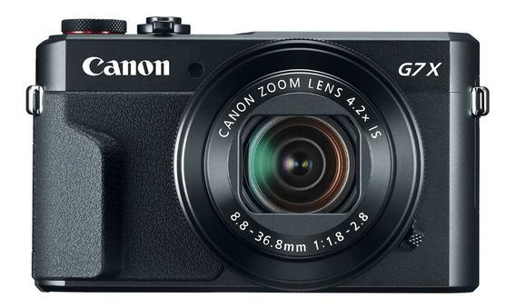 Câmera Canon G7x Mark Ll Wi-fi**nova Na Caixa+memória Brinde