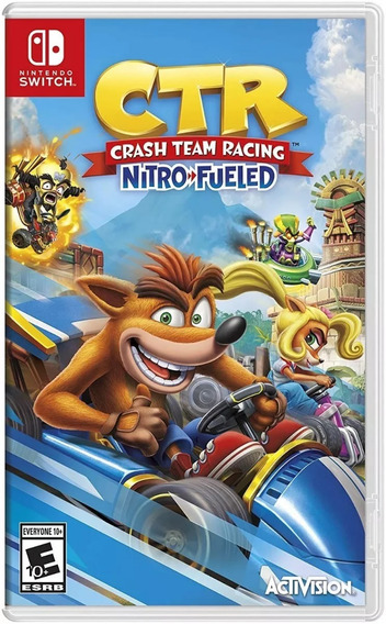 Crash Team Racing Nitro - Fueled Switch Mídia Física