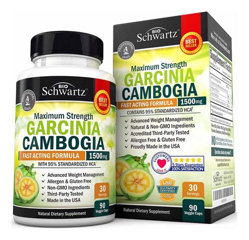 95% Hca Pure Garcinia Cambogia Ultra Original Únicos En Eu