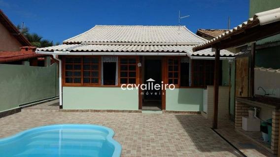 Casa Próximo A Praia, Cordeirinho (ponta Negra), Maricá. - Ca2430