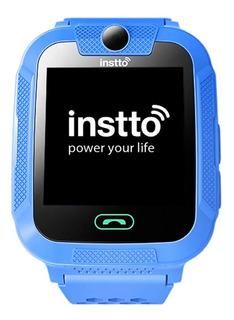 Reloj Seguridad Niños Adultos Instto Smartwatch Con Gps Boton Antipanico Notificaciones Y Llamadas Emergencia