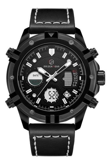 Promoção Relógio Esportes / Militar Golden Hour Gh110