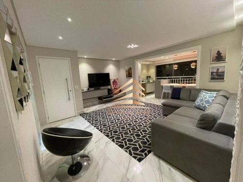 Imagem 1 de 30 de Apartamento Na Vila Augusta, Condomínio Supera, 110m², 3 Dormitórios, 3 Suítes, 2 Vagas, Avalia Permuta. - Ap1083