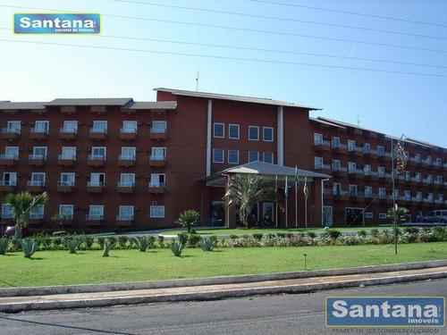 Apartamento Com 1 Dormitório À Venda, 27 M² Por R$ 80.000,00 - Lagoa Quente - Caldas Novas/go - Ap0015