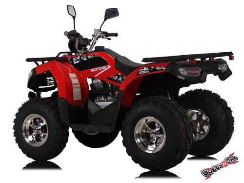 Quadriciclo 200cc Painel Digital Automatico Vermelho Novo