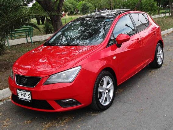 Seat Ibiza Style Plus 2013 Color Rojo
