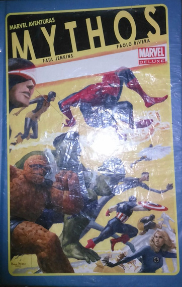Marvel Mythos Hard Cover Televisa
