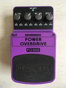 Pedal Behringer Power Overdrive Po300