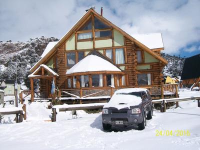 Hosteria Con 4 Habitaciones + 2 Cabañas Para 4 Y 2 Pax.