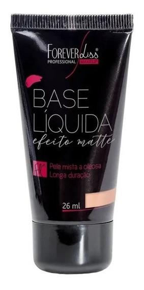 Base Matte Liquida Forever Liss - Claro 01