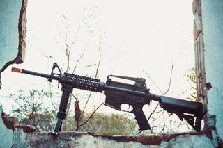 Rifle De Airsoft M4a1 Long Ris Cm007