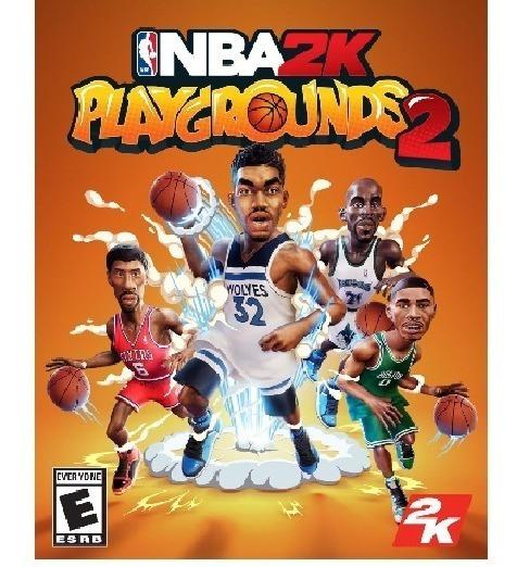 Nba 2k Playgrounds 2 All Star (mídia Física) Pc Frete Gratis