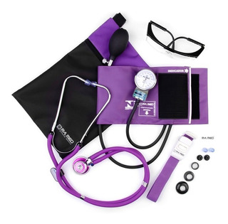 Kit Enfermagem Academico Roxo Pa Med