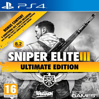 Sniper Elite 3 Ultimate Edition Ps4fisico Sellado Cuotas Ade