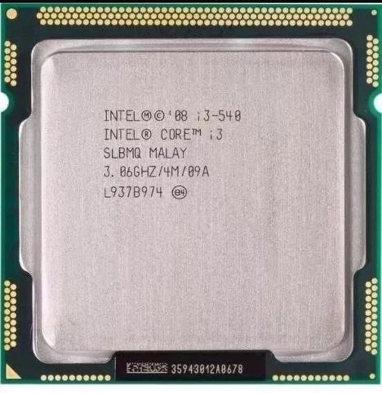 Processador I3 540 3.06ghz 1156p 4mb