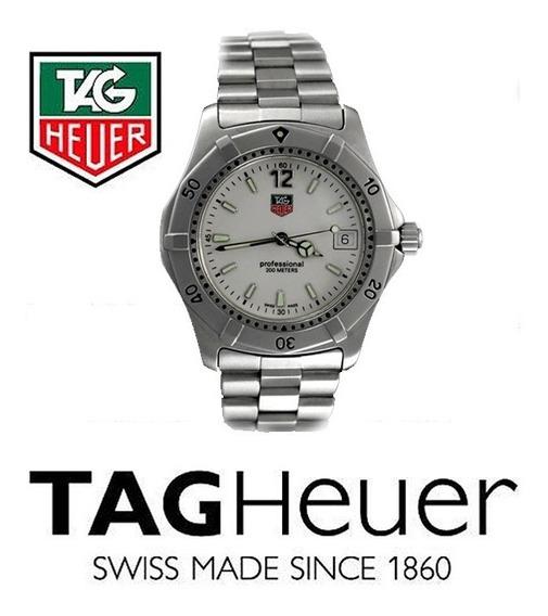 Relógio Tag Heuer Aço Série 2000 Classic Professional Quartz