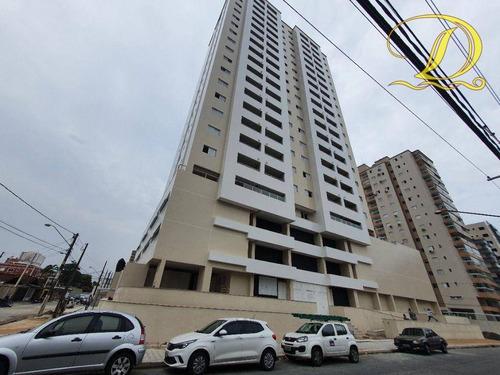 Imagem 1 de 30 de Apartamento Novo De 1 Quarto Sendo Suíte E Com 2 Vagas À Venda Em Praia Grande, Varanda Gourmet E Lazer Completo!!! - Ap3373