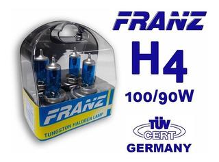 Bombillos H4 Franz Germany Xenón Blue 100/90w Luz Blanca