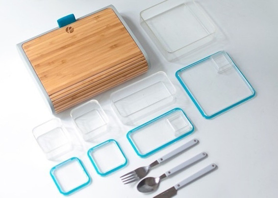 Marmita Prepd Pack Luxo Bento Box, Nova