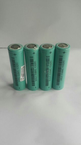 Bateria Litiun 18650 -3.7v 3000ma Usada 100% Vlr Ref 30 Pça