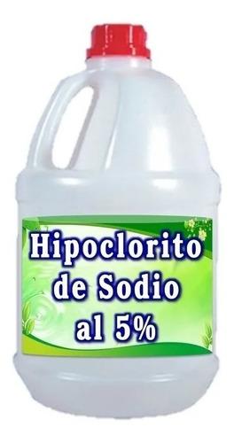 Hipoclorito De Sodio Al 5% Galón De 3800 Ml