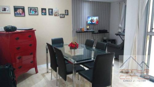 Imagem 1 de 20 de Apartamento Com 2 Dormitórios À Venda, 60 M² Por R$ 330.000 - Planalto - São Bernardo Do Campo/sp - Ap0912