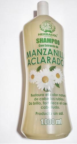 Shampoo Manzanilla Aclarador X 1000 Ml H - mL a $23