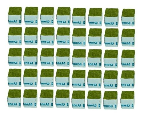 Imagem 1 de 5 de Cultilene Wool Block (bloco De Lã De Rocha) - 40 Un De 4x4cm