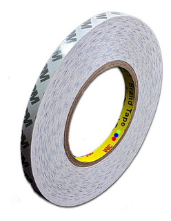 Cinta de doble cara ultradelgada fuerte cinta de doble cara pantalla del tel/éfono de doble cara White double-sided tape 2mm