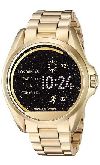 Relogio Michael Kors Mkt5001 Access Touch Digital Dourado
