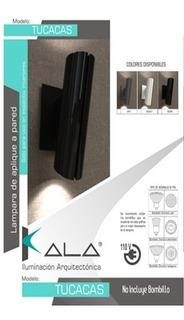 Lámpara De Aplique De Pared Interiores Kala Modelo Tucacas