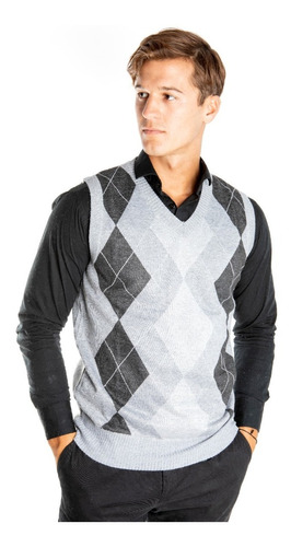 Sweater Hombre Chaleco Sin Mangas Rombo Olegario