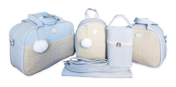 Kit Bolsas Para Bebê Luxo Saída De Maternidade - Lançamento