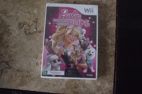 Barbie Groom And Glam Pups Original Para Wii