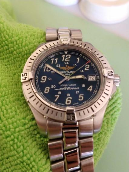 Relógio Breitling Colt Ocean 38mm Completo Perfeito Estado