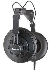Superlux Hd-668b Headphone Profissional Dj Estúdio Original