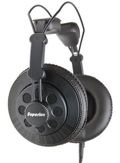 Superlux Hd-668b Headphone Profissional Dj Estúdio Original
