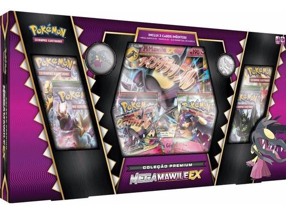 Box Fada - Mega Mawile - 3 Cards Inéditos Pokémon - Lacrado