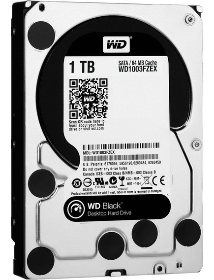 Hdd Interno 3.5 Black 1tb Western Digital 64mb