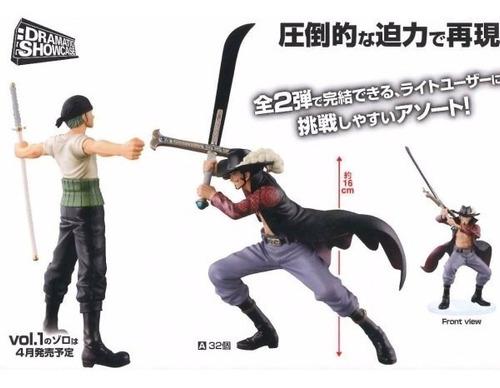 One Piece Zoro Y Mihawk