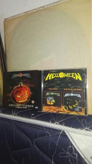Helloween Dvd Hellish Y Cd Helloween Ymaster Of The Rings