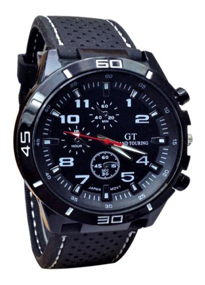 Relógio Masculino Militar Esporte Silicone Estiloso